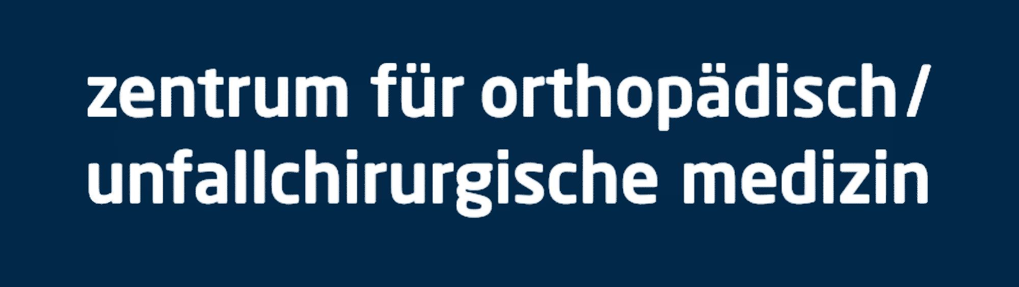 zoum   zentrum für orthopädisch / unfallchirurgische medizin