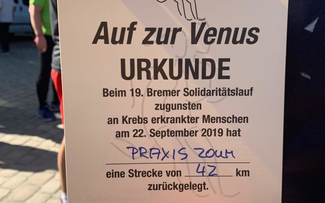 Venuslauf 2019 – Wir waren dabei!